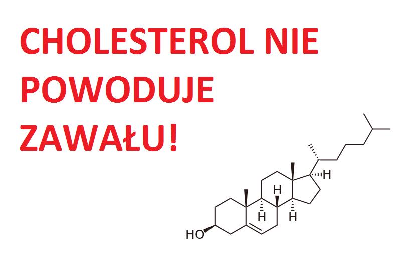 Cholesterol nie powoduje zawału serca