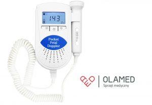 Detektor tętna płodu Sonoline B  -  dźwięk bicia serca dziecka