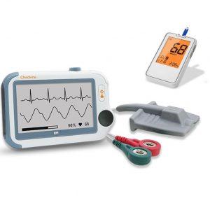 Monitor funkcji życiowych Checkme Pro z Glukometrem